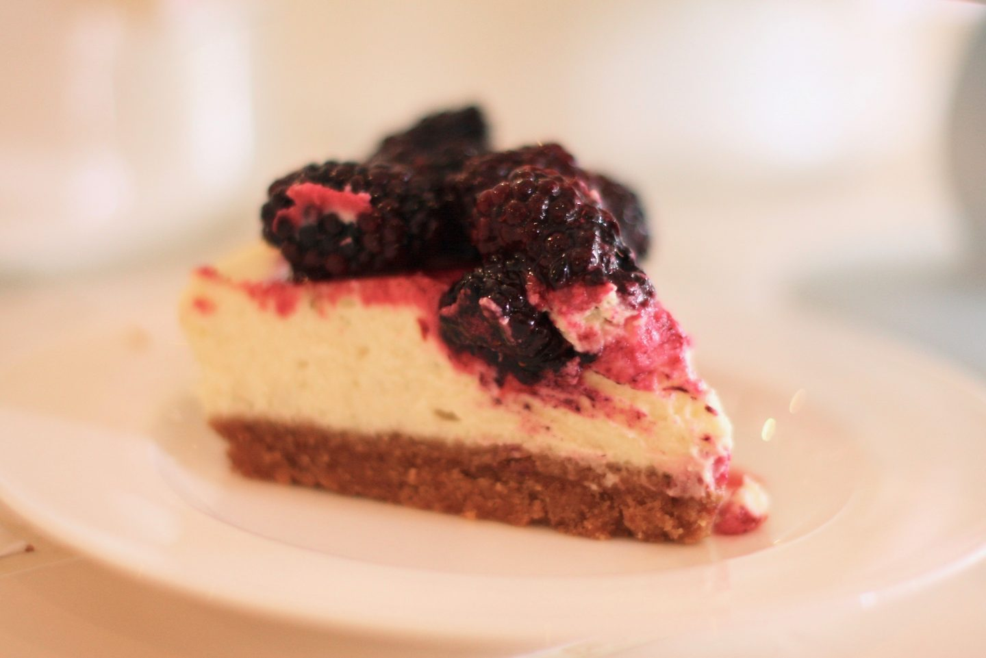 Lime & Blackberry Cheesecake 1 - Cherry Menlove