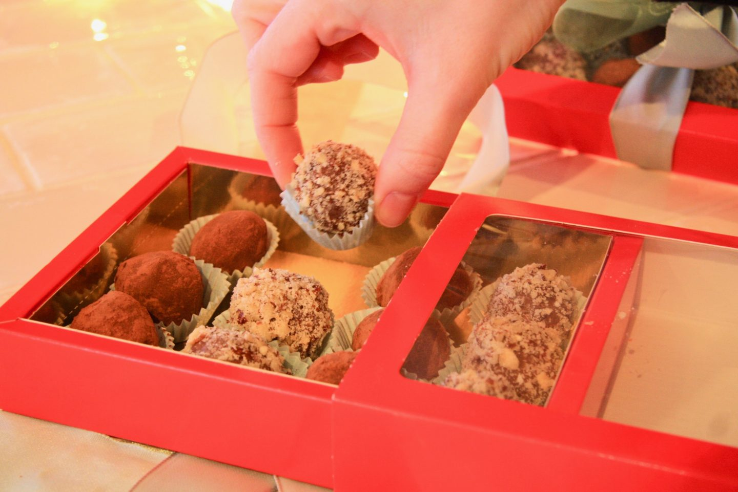 Homemade Chocolate Truffles