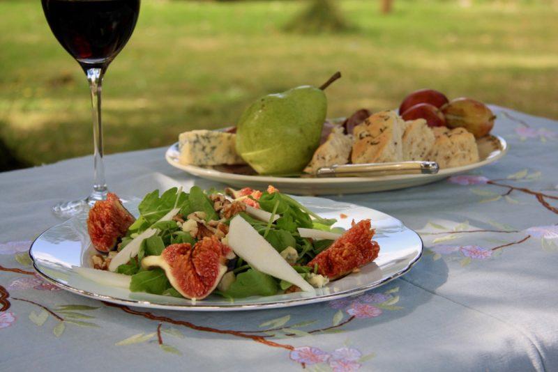 Fig, Pear & Walnut Salad - Cherry Menlove 2
