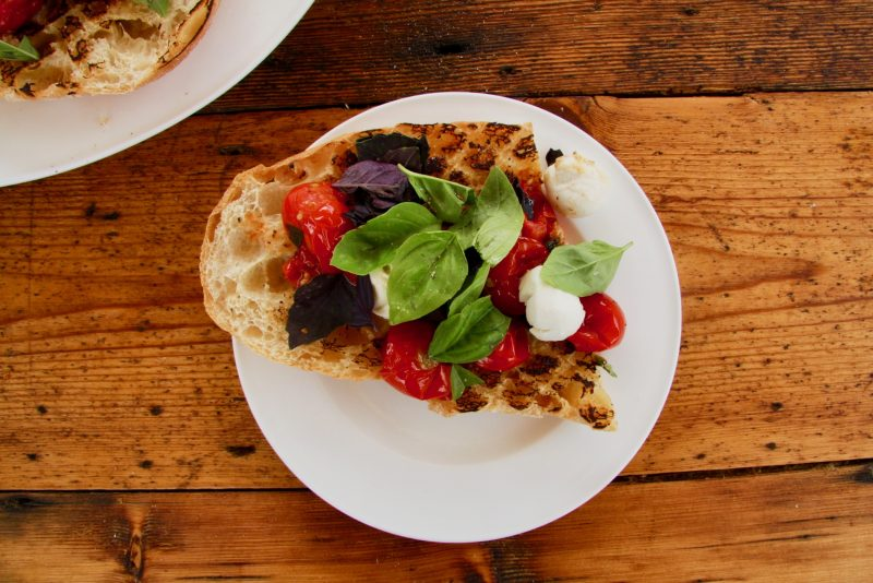 Tomato Bruschetta Recipe 1 - Cherry Menlove